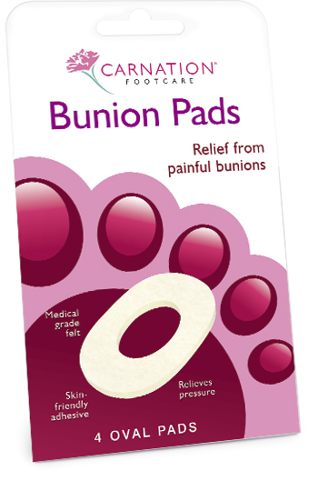 Carnation Bunion Pads