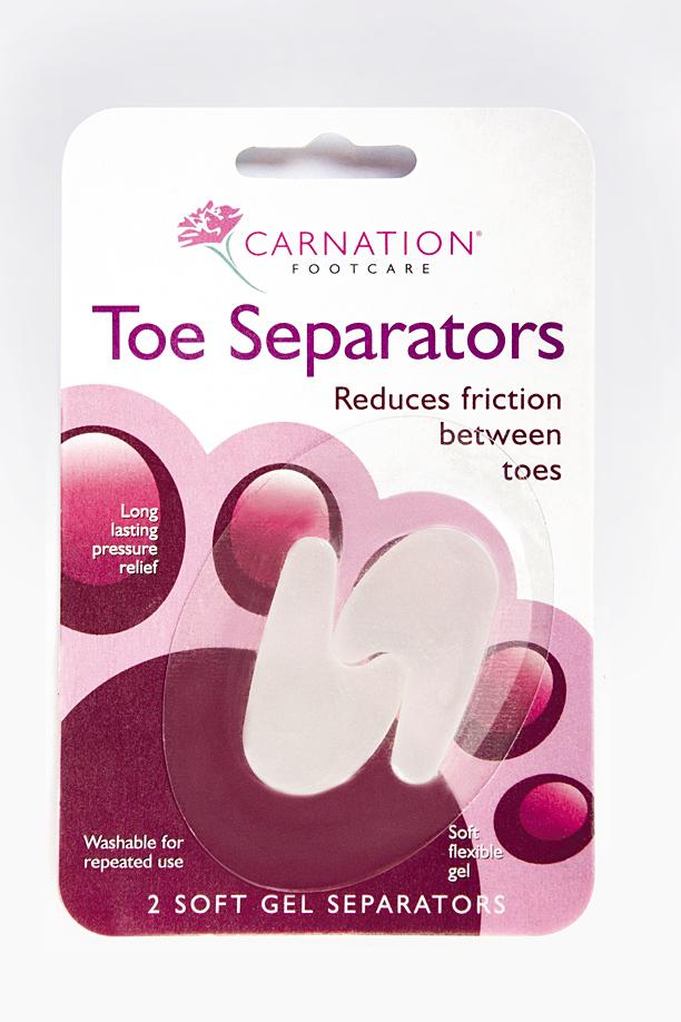 Carnation Toe Separators
