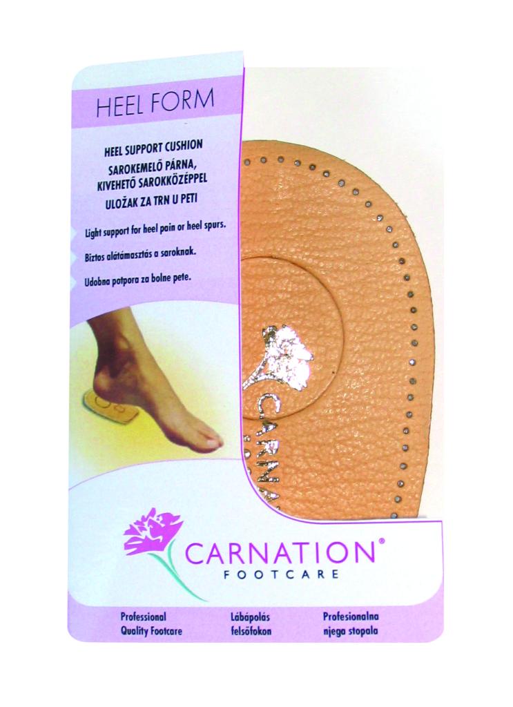 Carnation Heel Form